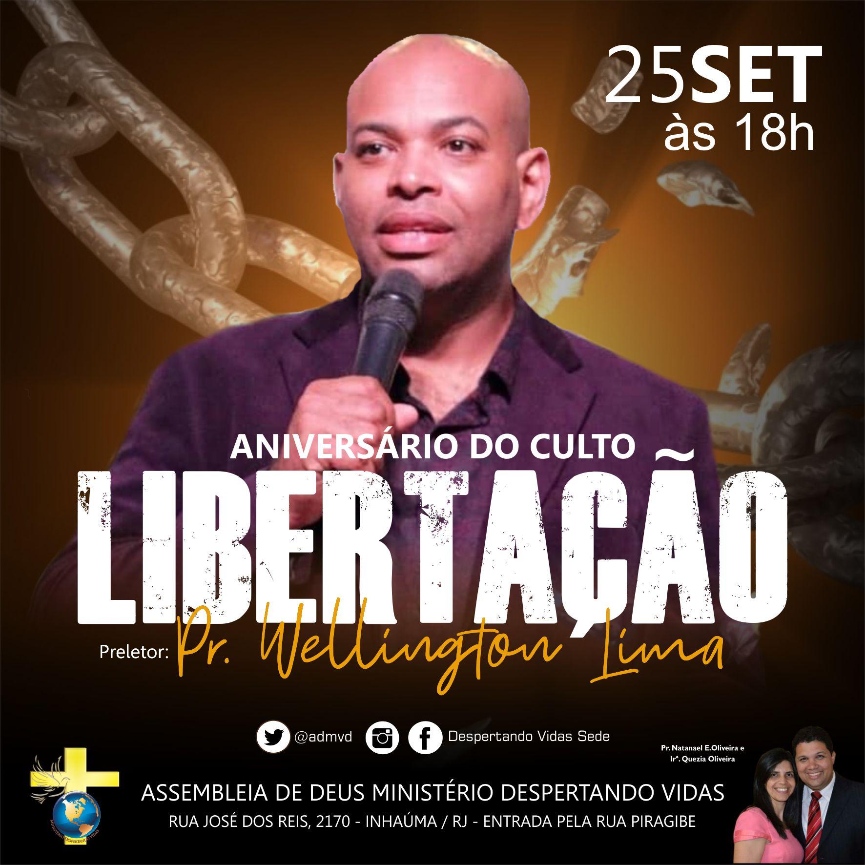 Aniversário Culto de Libertação