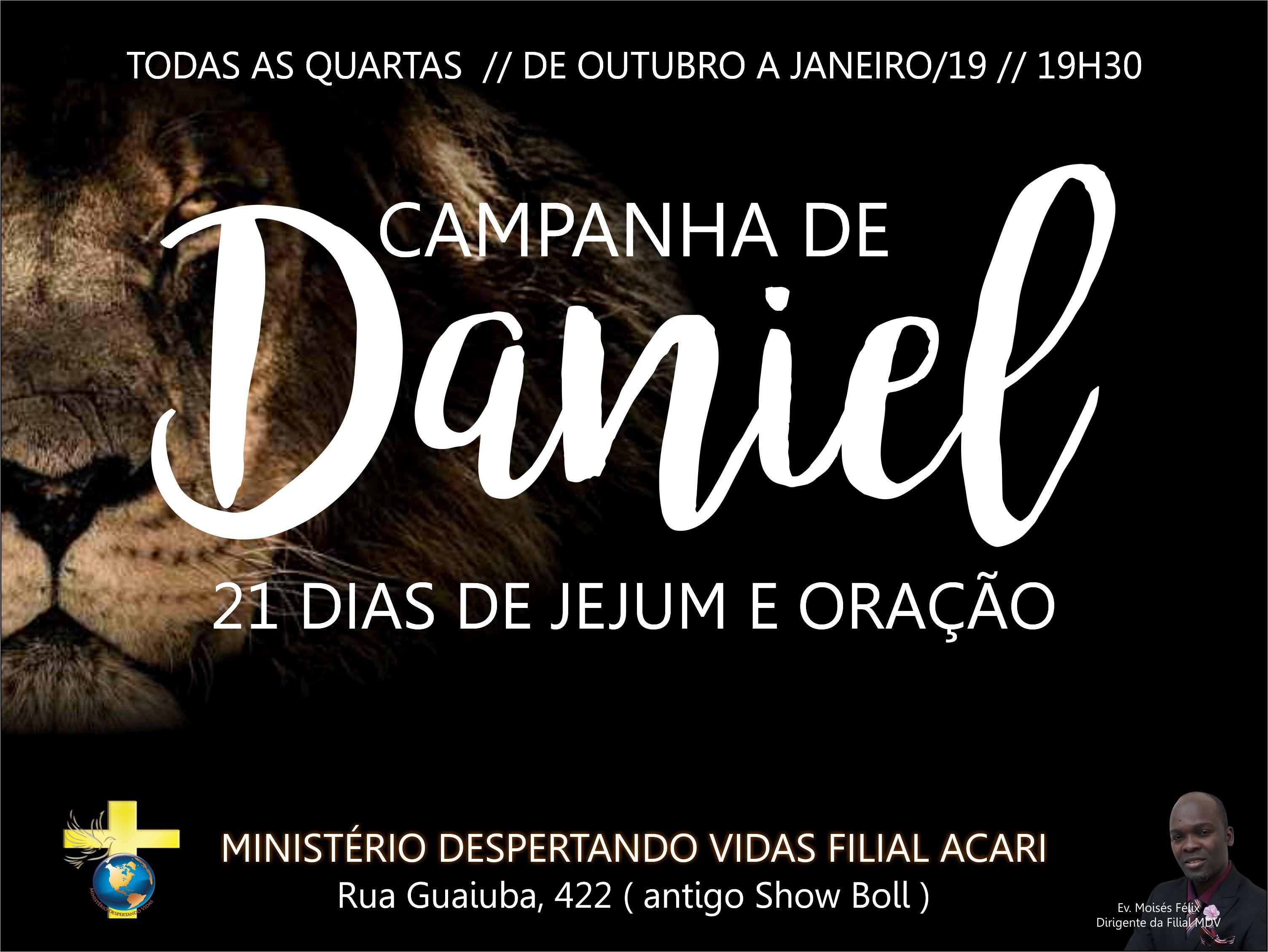 Campanha de Daniel